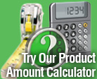 Landscaping Product Amount Calculator